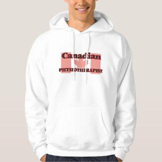 Fisioterapeuta canadiense jersey encapuchado