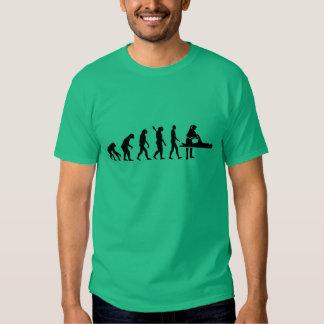 Fisioterapeuta de la evolución camiseta