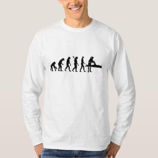 Fisioterapeuta de la evolución camisetas