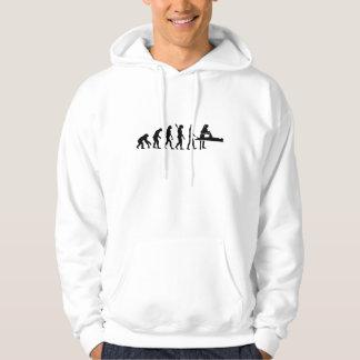 Fisioterapeuta de la evolución suéter con capucha