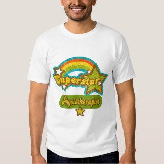 Fisioterapeuta de la superestrella camiseta