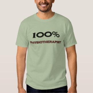 Fisioterapeuta del 100 por ciento camisetas