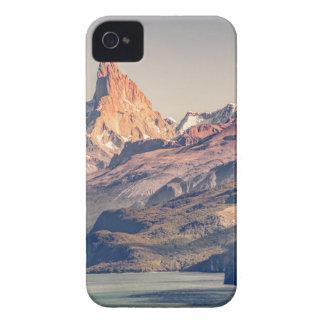 Fitz Roy y Patagonia de las montañas de Poincenot Carcasa Para iPhone 4