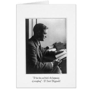 "Fitzgerald ""que es tarjeta de felicitación del"