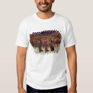 Fiumana (la marea humana) 1895-96 (aceite en lona) camisas