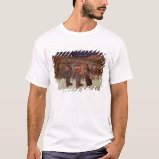 Fiumana (la marea humana) 1895-96 (aceite en lona) camiseta