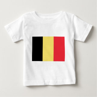 Flag_of_Belgium_ (civil) Camiseta De Bebé