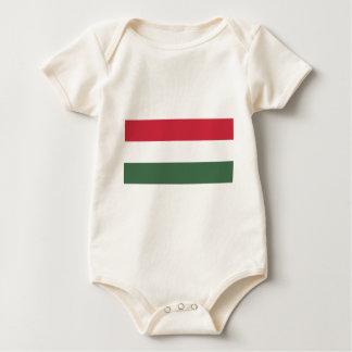 Flag_of_Hungary Body Para Bebé