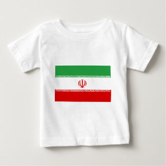 Flag_of_Iran Camiseta De Bebé