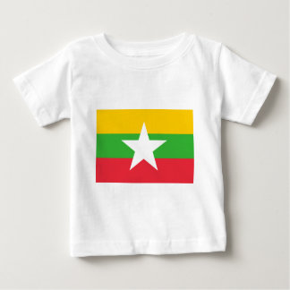 Flag_of_Myanmar Camiseta De Bebé