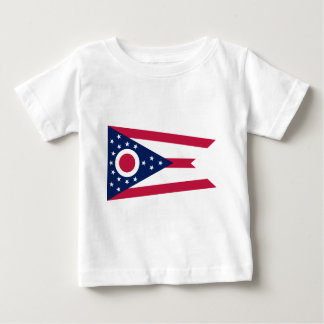 Flag_of_Ohio Camiseta De Bebé