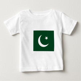 Flag_of_Pakistan Camiseta De Bebé