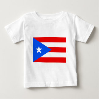 Flag_of_Puerto_Rico Camiseta De Bebé