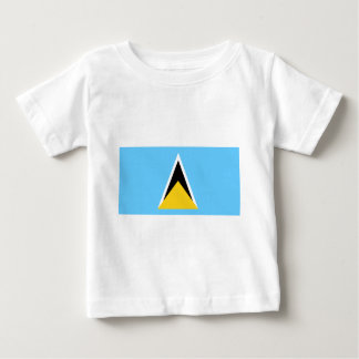 Flag_of_Saint_Lucia Camiseta De Bebé
