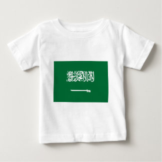 Flag_of_Saudi_Arabia Camiseta De Bebé