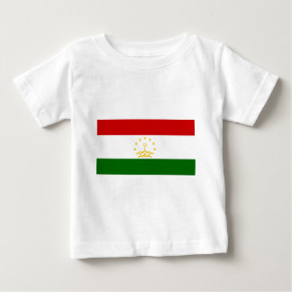 Flag_of_Tajikistan Camiseta De Bebé