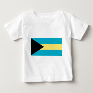 Flag_of_the_Bahamas Camiseta De Bebé