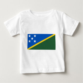 Flag_of_the_Solomon_Islands Camiseta De Bebé