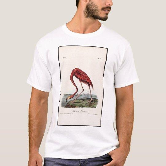 Flamenco americano camiseta