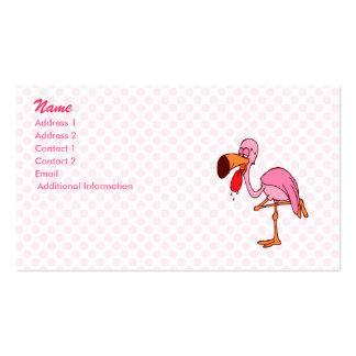 Flamenco del capirotazo tarjeta personal