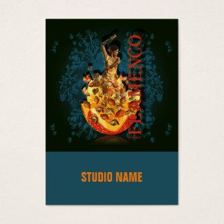 Flamenco II - Negocio, tarjeta del horario