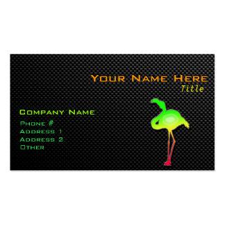 Flamenco liso tarjetas de visita