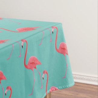 "Flamenco rosado tropical del mantel ""60x84"""