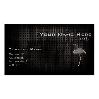 Flamenco rugoso tarjetas personales