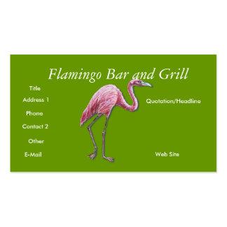 FLAMENCO, tarjeta de visita