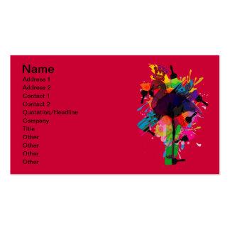 Flamenco Plantilla De Tarjeta De Visita