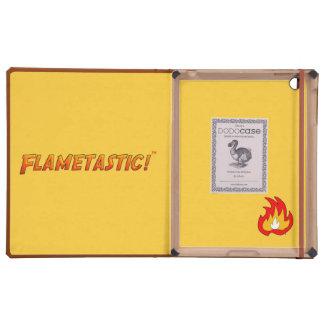 Flametastic iPad Funda