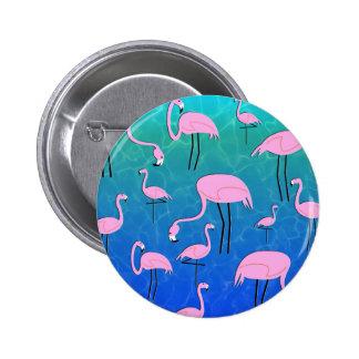 FlamingoPond Chapa Redonda De 5 Cm