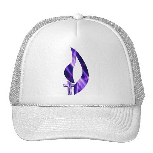 Flamme sous Violette de Croix Gorras