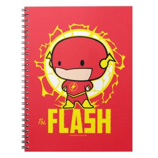 Flash de Chibi con electricidad Cuaderno