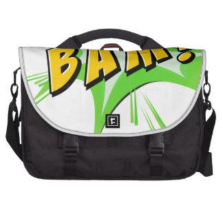 Flash del Bam en blanco Bolsas Para Portatil