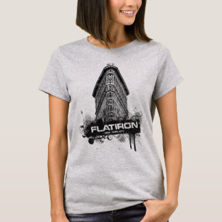 Flatiron que construye la camiseta de New York