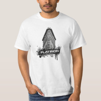Flatiron que construye New York City Camisetas