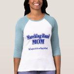 Flautín de la mama de la banda camiseta