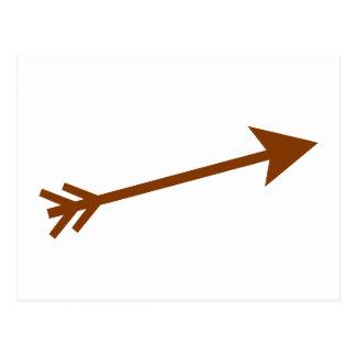 Flecha Brown 15deg los regalos de Zazzle del MUSEO Postal