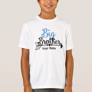 Flecha de hermano mayor personalizada camiseta