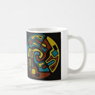 Flechas abstractas taza de café