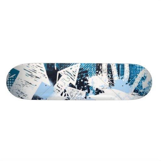 Flechas de la pintada azules monopatines personalizados