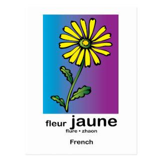 Fleur Jaune Tarjetas Postales
