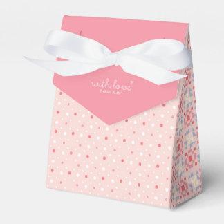 """""""Fleur menudo"""" con rosa de la caja del favor de"""