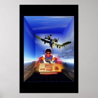 Flight Simulator Póster