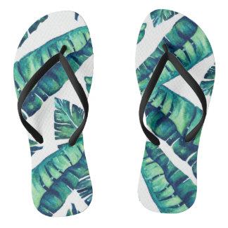 Flip-flop atractivo tropical chanclas