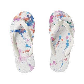 Flip-flop del artista chanclas para niños