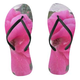 flip-flop rosado chanclas