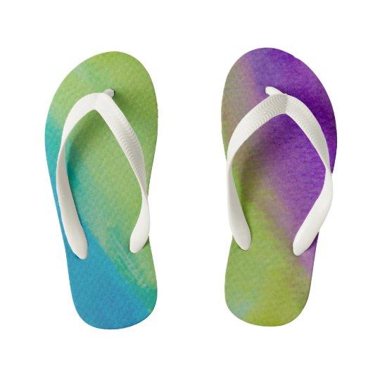 Flips-flopes coloridos chanclas para niños