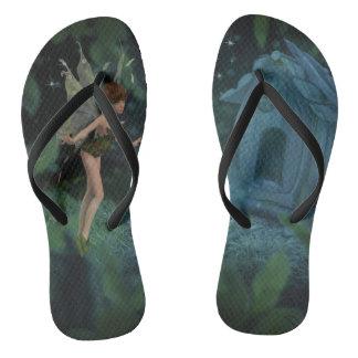 Flips-flopes de hadas mágicos del diseño chanclas